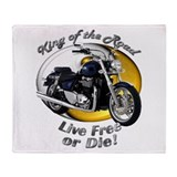 Triumph Thunderbird Throw Blanket