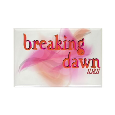 Breaking Dawn Abstract Rectangle Magnet (100 pack)