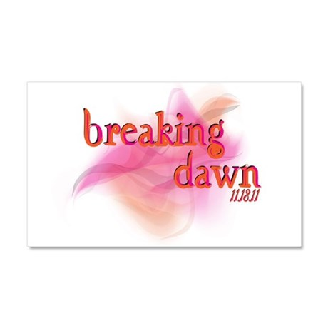 Breaking Dawn Abstract Car Magnet 20 x 12