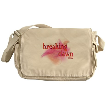Breaking Dawn Abstract Messenger Bag