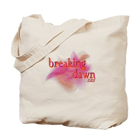 Breaking Dawn Abstract Tote Bag
