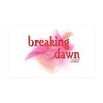 Breaking Dawn Abstract 38.5 x 24.5 Wall Peel