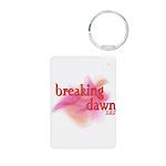 Breaking Dawn Abstract Aluminum Photo Keychain