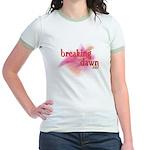 Breaking Dawn Abstract Jr. Ringer T-Shirt