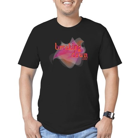 Breaking Dawn Abstract Men's Fitted T-Shirt (dark)