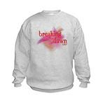 Breaking Dawn Abstract Kids Sweatshirt