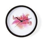 Breaking Dawn Abstract Wall Clock