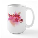 Breaking Dawn Abstract Large Mug