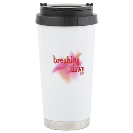 Breaking Dawn Abstract Stainless Steel Travel Mug
