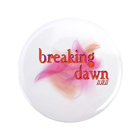 """Breaking Dawn Abstract 3.5"""" Button"""
