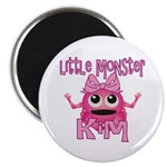Little Monster Kim Magnet