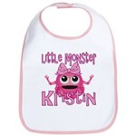 Little Monster Kristin Bib