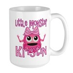 Little Monster Kristin Large Mug
