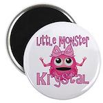Little Monster Krystal Magnet