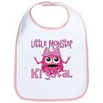 Little Monster Krystal Bib