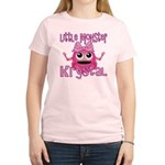 Little Monster Krystal Women's Light T-Shirt