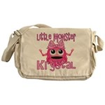 Little Monster Krystal Messenger Bag