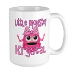 Little Monster Krystal Large Mug