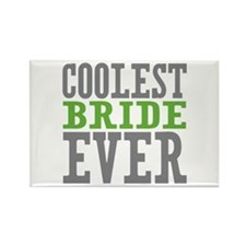 Coolest Bride Rectangle Magnet (100 pack)