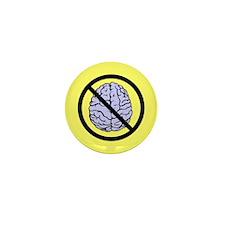 Brain Not Found Mini Button (100 pack)