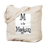 M Is For Meghan Tote Bag