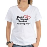 Women's V-Neck White T-Shirt