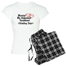 Cute Newlywed 2012 Pajamas