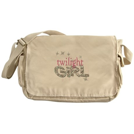 Twilight Girl Pink Messenger Bag