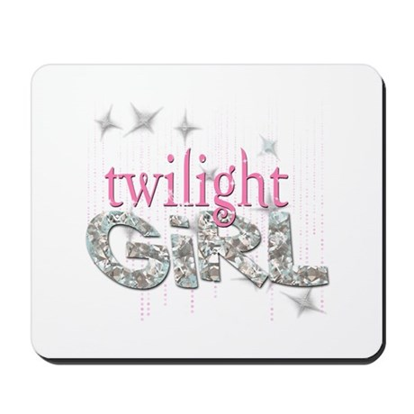 Twilight Girl Pink Mousepad