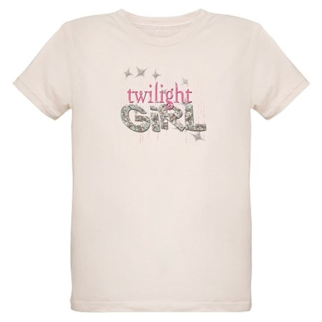 Twilight Girl Pink Organic Kids T-Shirt