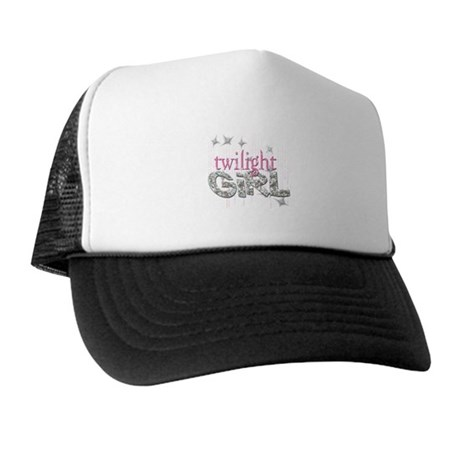Twilight Girl Pink Trucker Hat