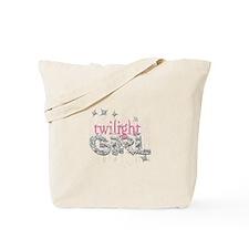 Twilight Girl Pink Tote Bag
