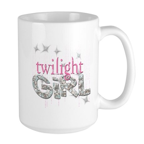 Twilight Girl Pink Large Mug