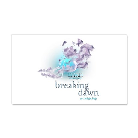 Breaking Dawn Clouds Screening Party Car Magnet 20