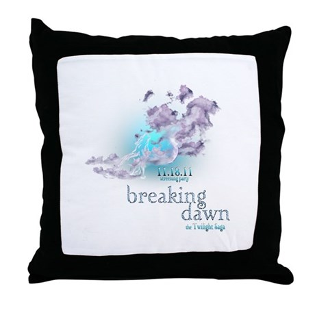 Breaking Dawn Clouds Screening Party Throw Pillow