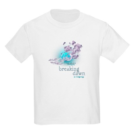 Breaking Dawn Clouds Screening Party Kids Light T-