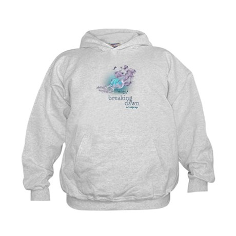 Breaking Dawn Clouds Screening Party Kids Hoodie