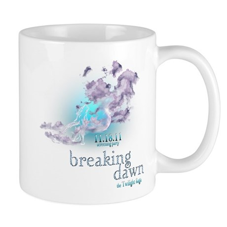 Breaking Dawn Clouds Screening Party Mug