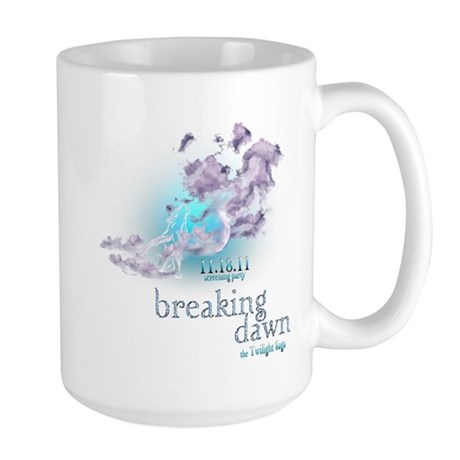Breaking Dawn Clouds Screening Party Large Mug