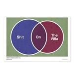 Shit Venn Diagram Postcards (Package of 8)