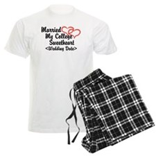 Married College Sweetheart (Wedding Date) Pajamas