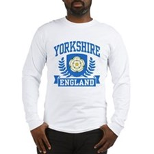 Yorkshire England Long Sleeve T-Shirt
