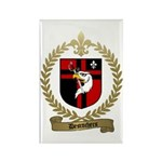 DESROCHERS Family Crest Rectangle Magnet