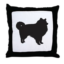 American Eskimo Throw Pillow
