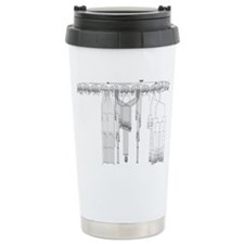 C. elegans Lineage Ceramic Travel Mug