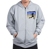 Unique Trail running Zip Hoodie