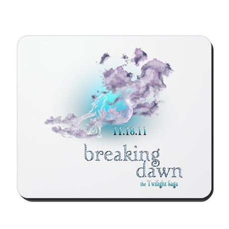 Breaking Dawn Clouds Screening Party Mousepad