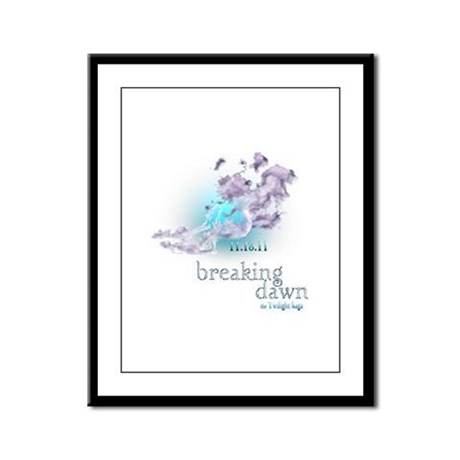 Breaking Dawn Clouds Screening Party Framed Panel
