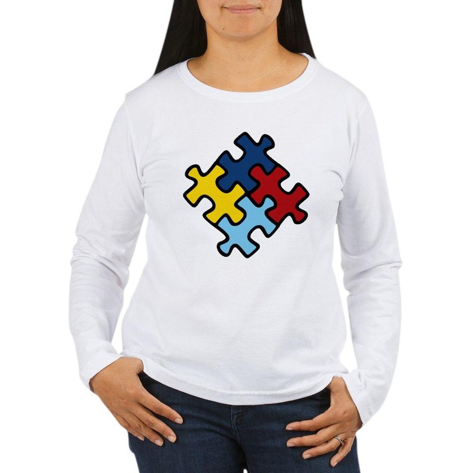 Autism Awareness Puzzle T Shirt by Piranha_Gear