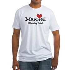 Married (Add Your Wedding Date) Shirt